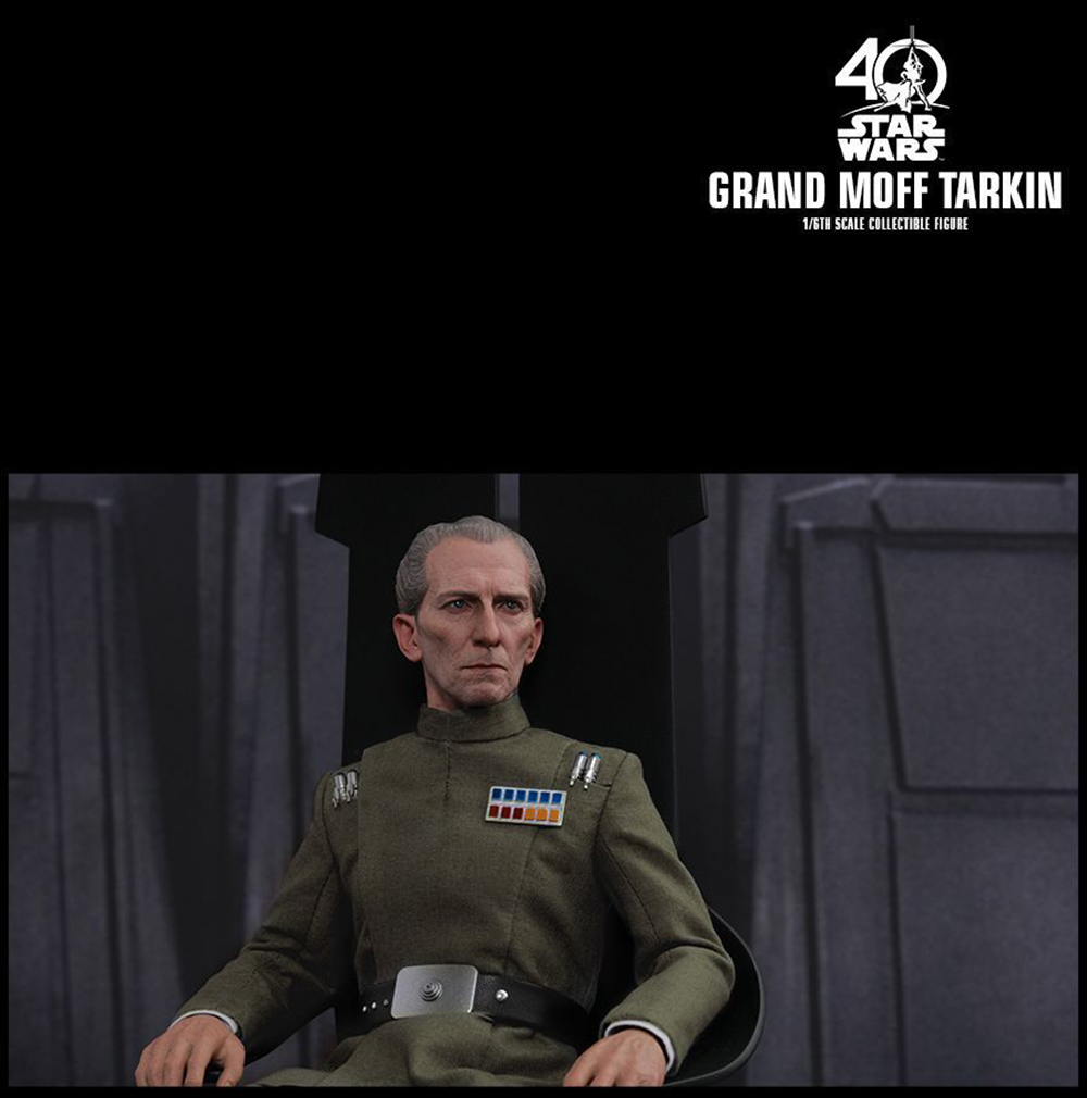 Full set Colletible 1/6 Scale Star Wars: Episode IV - A New Hope Grand Moff Tarkin Peter Cushing Figure Model Toys 7