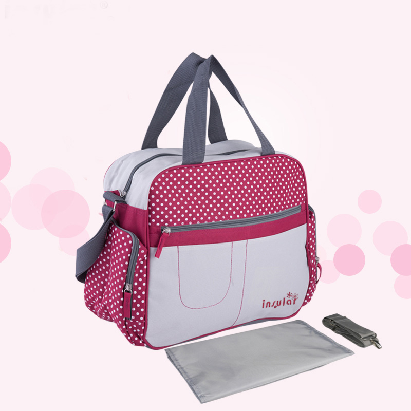 Nappy Bags Diaper Bag Organizer Baby Travel Maternity Bags For Mother Baby Stroller Bag Diaper Handbag