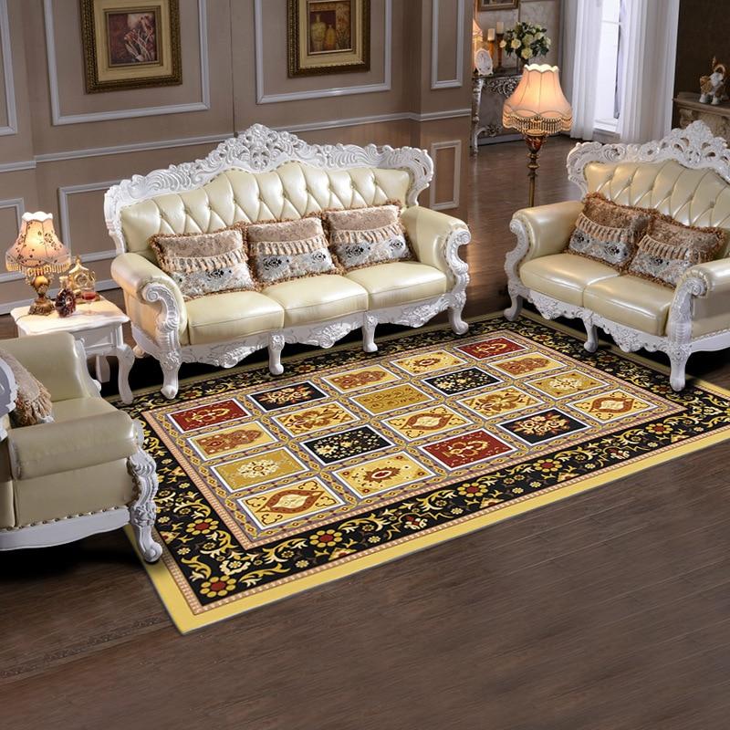 Vintage carpet for living room non slip bathroom doormat for Durable carpet for family room