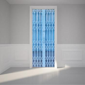 3D Ã�アステッカーレトロ歳木製ドアステーションバーエレベーター警察ホール地下鉄階段色レンガ引っ張るドア家の装飾ペースト