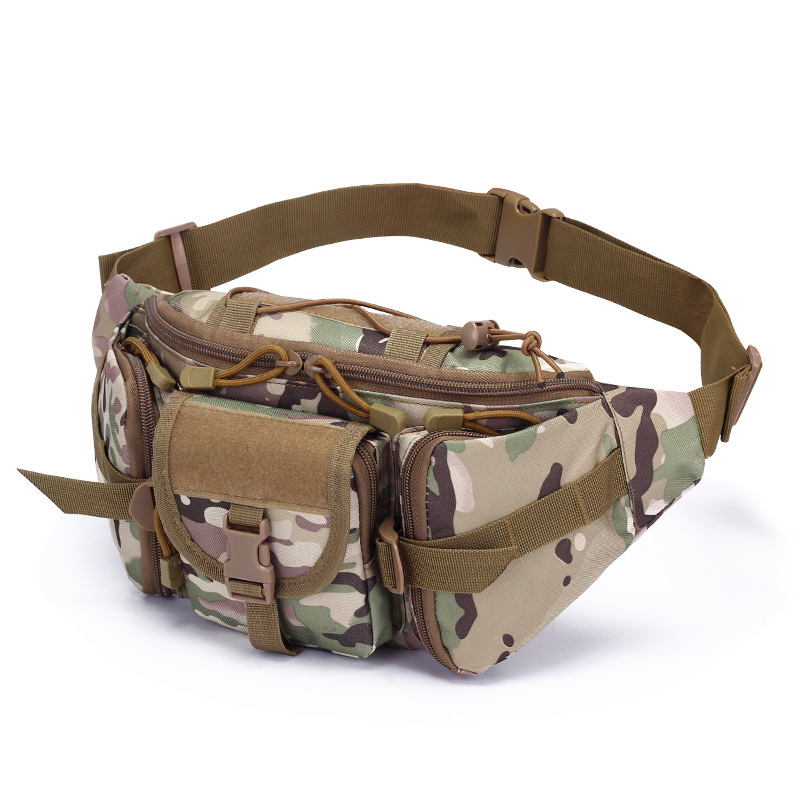 Tactical Waist Bag Waterproof Fanny Pack Hiking Fishing Sports Hunting Bags Camping Sport Molle Army Bag Belt Military Backpack