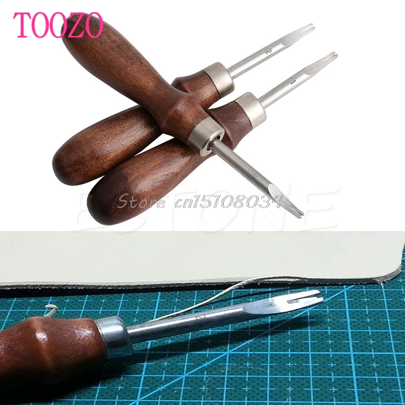 Leather Craft Edge Skiving Practical DIY Beveling Skiving Cutting Tool Keen Edge #S018Y# High Quality 5pcs u v shaped working hand leather trench stitching groover skiving edge diy craft keen edge beveler leathercraft tools kit