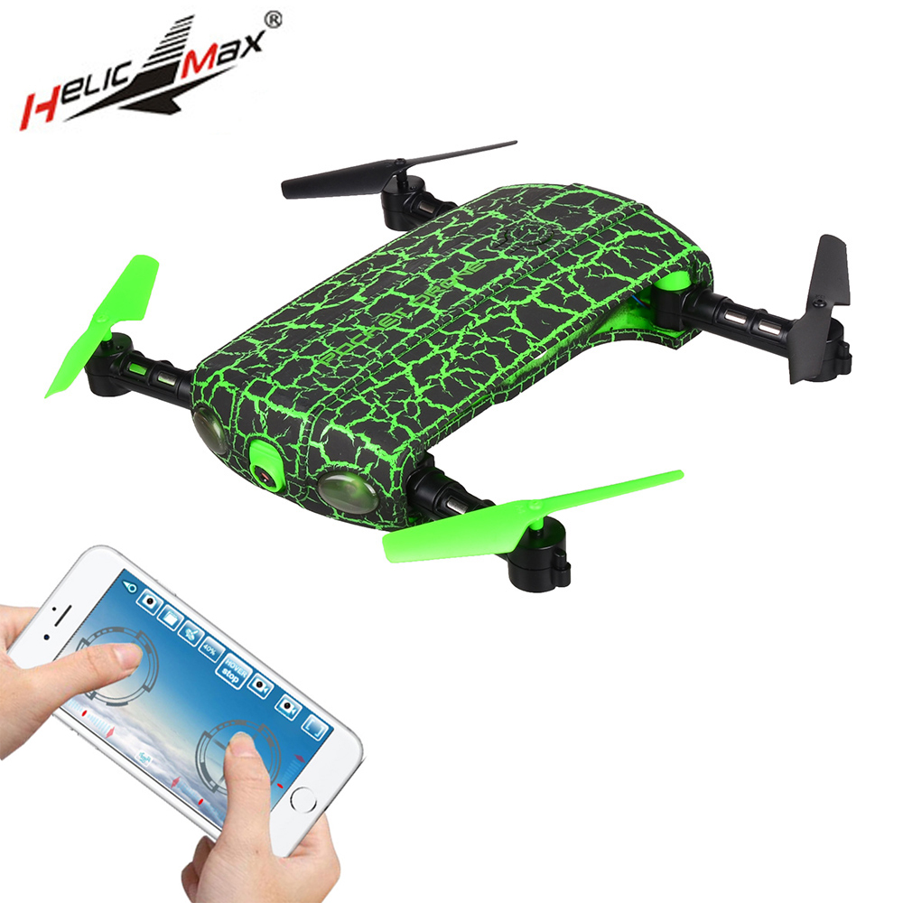 HelicMAX 1705W RC Helicopter 2.4GHz 4CH 6 Axis WiFi FPV Foldable Pocket Mini Drone with Camera Foldable Arm RC Quadcopter бра sl571 701 02 st luce