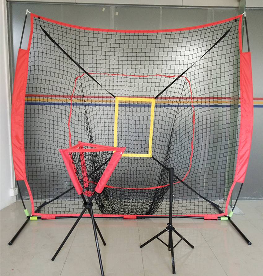 Professional Baseball Ball Holder Portable Softball Batting Tee Adjustable Basics Practice Training Gear Hitting Training Net B8