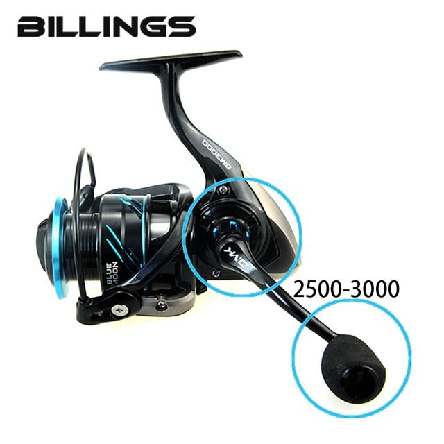 quality design efb06 e33c8 2018 DMK 2500-5000 Size Spinning Seawater Fishing Reel 5.2 1 10BB 12-16kg  Max Drag CNC Handle EVA Grip Graphite Body Sea Fishing