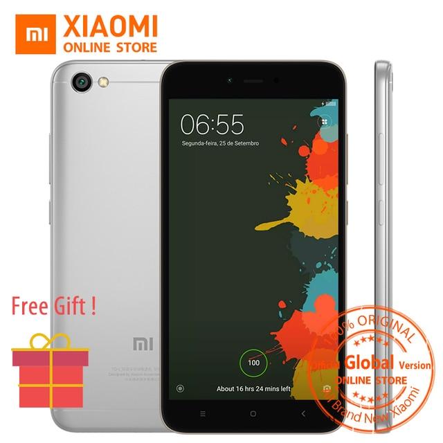 Глобальная версия Xiaomi Redmi Note 5A 5 5.5 дюймов LTE мобильный телефон 2 ГБ 16 ГБ Snapdragon 425 Процессор 13.0MP 3080 мАч MIUI 9 ce fcc