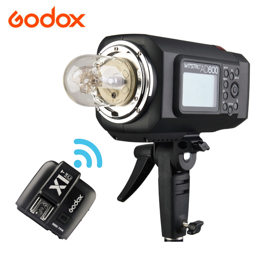 <font><b>Godox</b></font> <font><b>AD600BM</b></font> 600W HSS GN87 Bowens Mount Flash Light or <font><b>AD600BM</b></font> + X1T-C Transmitter Trigger For Canon image