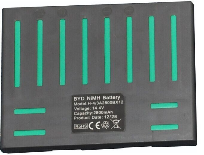 (For QQ5) Battery for Vacuum Cleaning Robot QQ5, DC14.4V, 2800mAh, Ni-MH, 1pc/pack for x500 x550 b2000 b3000 battery for intelligent vacuum cleaner dc14 4v 2000mah ni mh battery 1pc pack cleaning equipment part