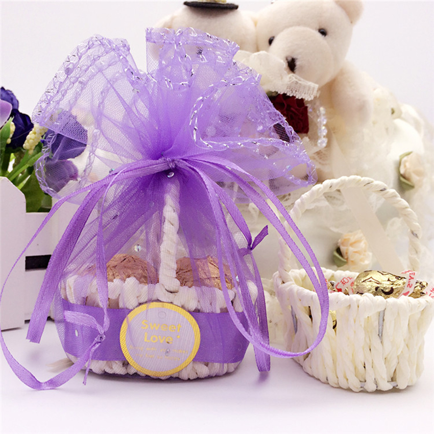 20Pcs/bag Creative Candy box rattan candy basket Lovely gift cardboard boxes Wedding decoration Gift Bags & Wrapping Supplies chinese yeast ball