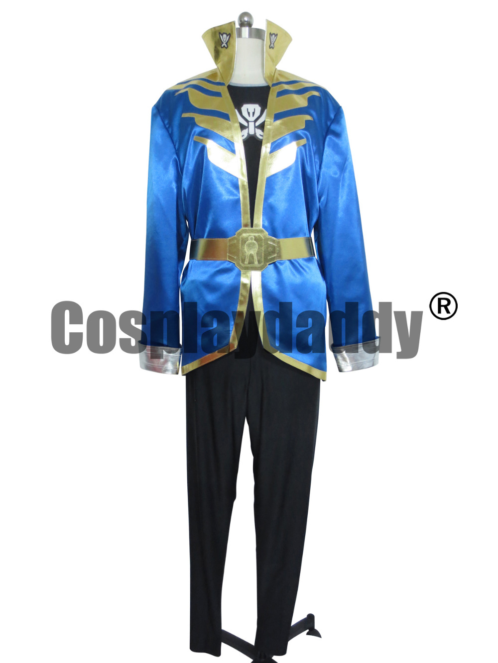 Kaizoku Sentai Gokaiger Gokai silver Custom Made  Cosplay Shoes Boots
