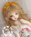 1/3  8-9inch  1/4 7-8inch 1/6 BJD Wig long curly  hair  for bjd dollfie(mohair-like)