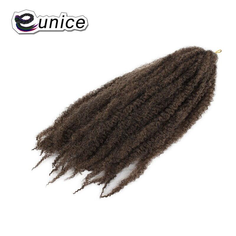 Marley Braids Hair Extension Synthetic Ombre Afro Kinky Crochet Kanekalon Braiding Hair (26)