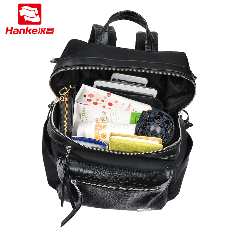 3 in 1 Fashion Women Backpack Shoulder Cross body Bags Hand bag Travel School Bag Nylon Casual Daypack for Teenage Girls