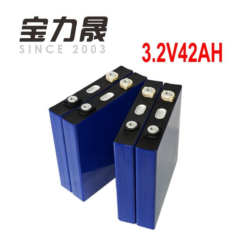 4 pièces lifepo4 batterie 3.2v40ah 42ah 45ah haute décharge cellule de courant pour electrice vélo moteur batterie pack bricolage