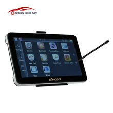 """128MB RAM 4GB ROM MP3 FM Video Play KKmoon 7"""" Portable HD Car GPS Navigator Car Entertainment System with Back Support +Free Map"""