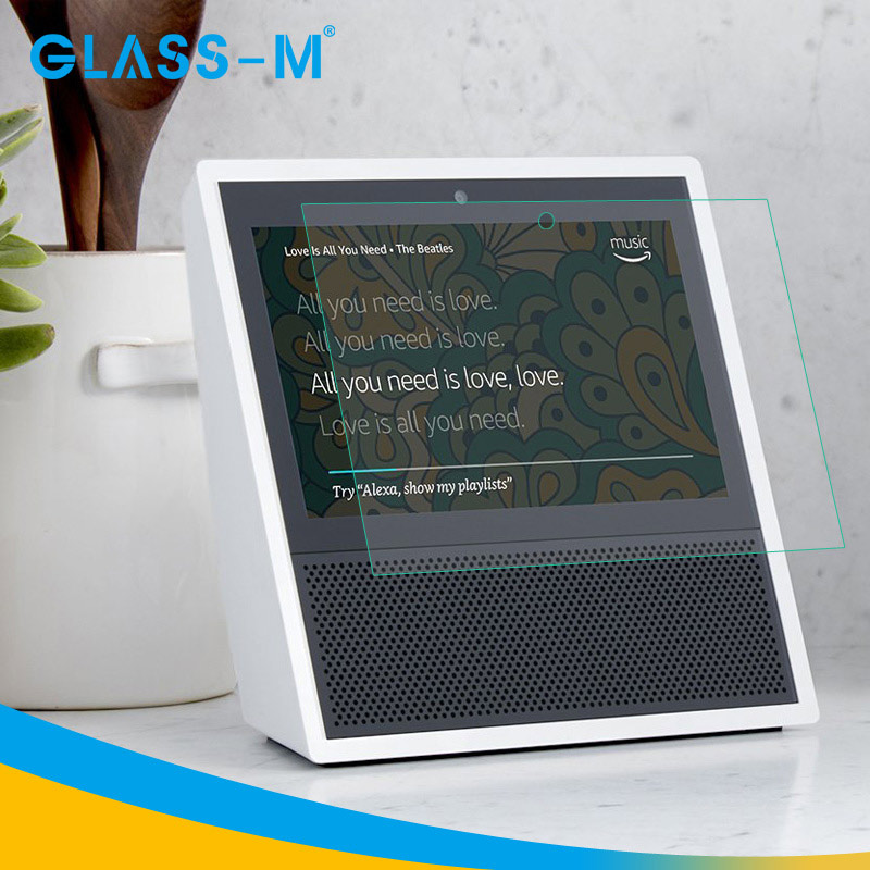 HD High 2.5D Tempered Glass for Amazon Echo Show Invisible