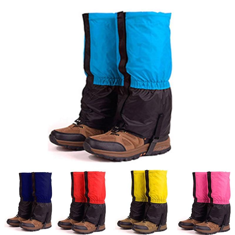 Outdoor Camping Hiking Climbing Waterproof Snow Legging Gaiters for Men Women Kids Trekking Skiing Desert Snow Boots Shoes Cover