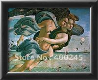 High quality oil painting with handmade Modern art Birth of Venus Detail Mythological Couple by Sandro Botticelli Reproduction