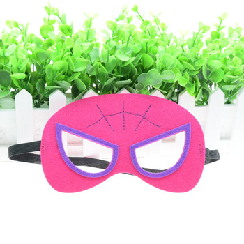Spider-maschera di Donna Batwoman Flash Superhero Cosplay Batman Iron Man Principessa di Halloween Di Natale per bambini di età Costumi Del Partito Maschere