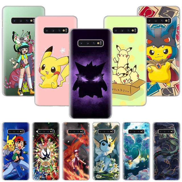 sneakers for cheap 21c90 86313 Pocket Monsters Pokemon Pikachu Phone Cases for Samsung Galaxy S8 S9 ...