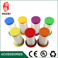 6PCS Multi-color hepa filter and high quality vacuum cleaner parts air hepa filters for vacuum cleaner FC8254 FC8256 ZW1400-202