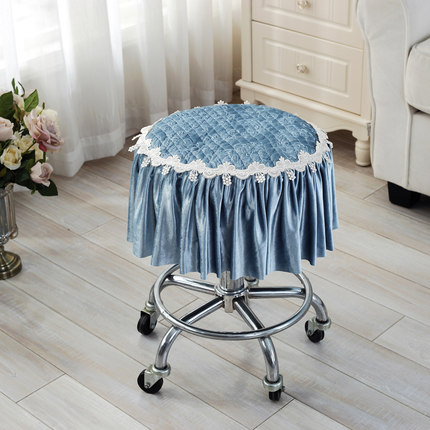 Four Seasons Thicker Small Pad Stool Pad Stool Cushion Round Seat Pad Round Stool Cushion