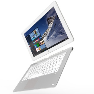 Cube iwork1x 2 in 1 Tablet PC 11 6 inch Windows 10 Intel Atom X5 Z8350