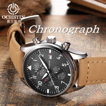 Relogio Masculino 2016 OCHSTIN Watch Chronograph Mens Watches Top Brand Luxury Sports Watches Men Clock Quartz Wrist Watch Male