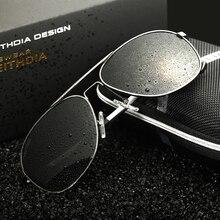 VEITHDIA Aluminum Magnesium Polarized Mens Sunglasses Sun glasses Male Eyewear Accessories Goggle Oculos For Men 3364