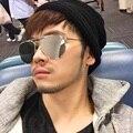 Thom BROWNE tapa Mirror Mirror Sunglasses Men espejo plano Gafas de sol mujeres diseñador de la marca Retro Gafas de sol Oculos