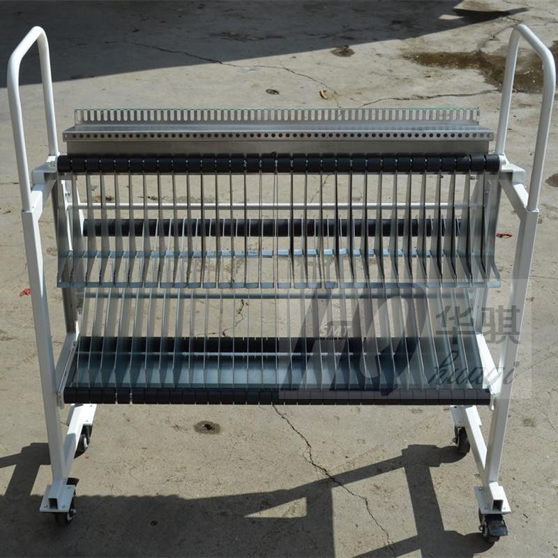 Trolley for Ys12 YAMAHA Chip Mounter Racks Storage Cart use in pick and place machine SMT Spare Parts