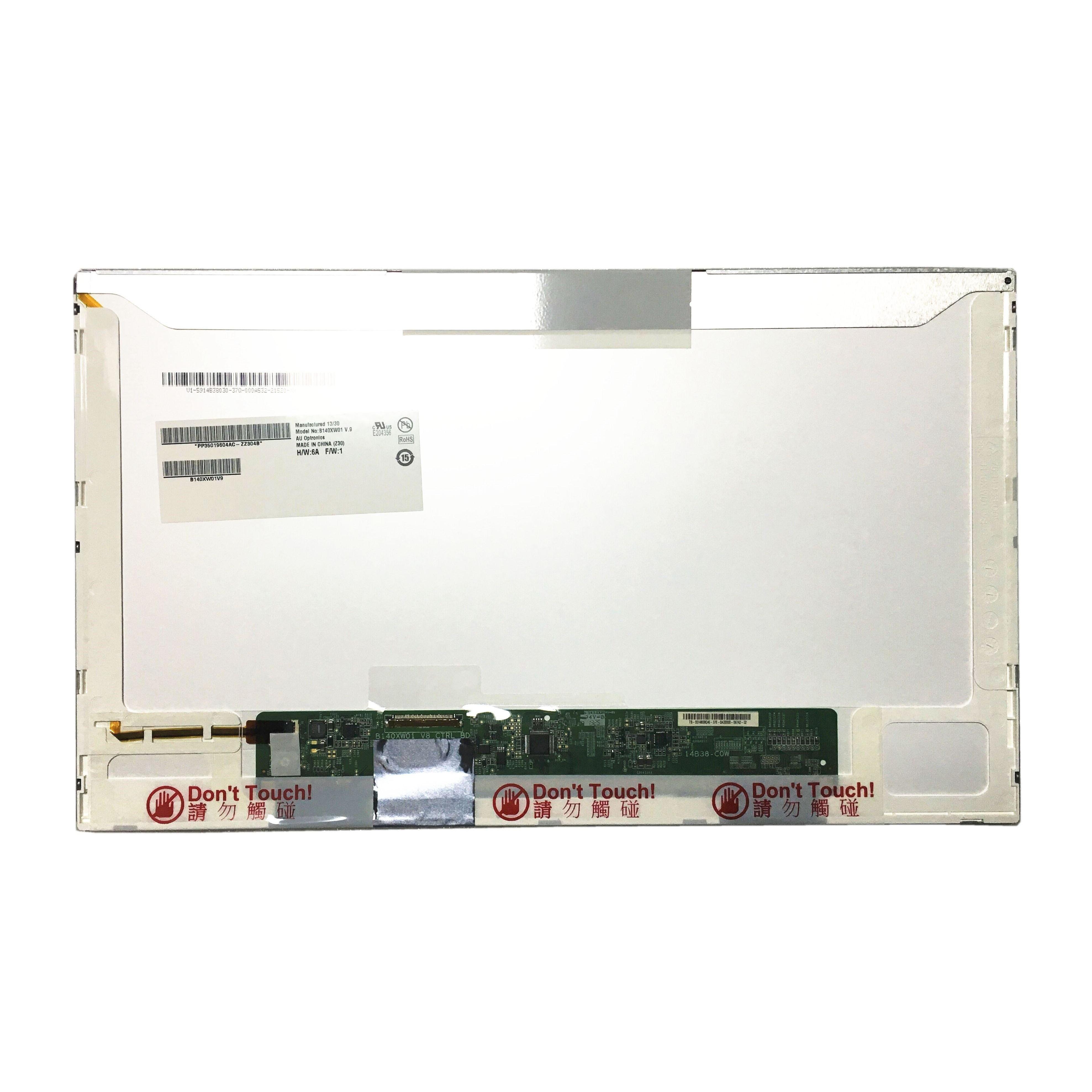 Free Shipping B140XW01 V.9 B140XW01 V8 V7 V6 V5 B140XW01 V0 V1 V2 V3 14.0''inch Laptop LCD screen panel 1366*768 LVDS 40pin