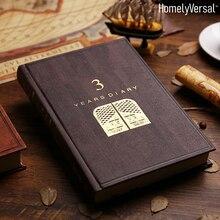 A5 Notebook 3/5 jahre agenda Buch Zeit Management Neue Jahr Geschenk Business Wöchentlich Planer Journal Tagebuch Hand Buch student