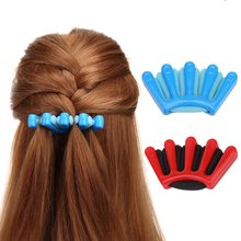 Lady Girl's French Hair Braiding Tool Weave Sponge Plait Twi