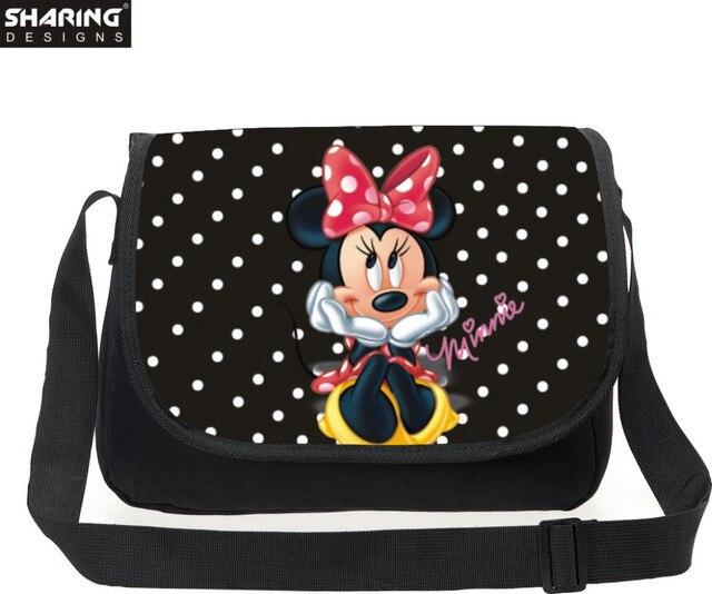 Lassical Cartoon Character Messenger Bag Barbie Mini 3d Crossbody S Shoulder Women Casual Travel