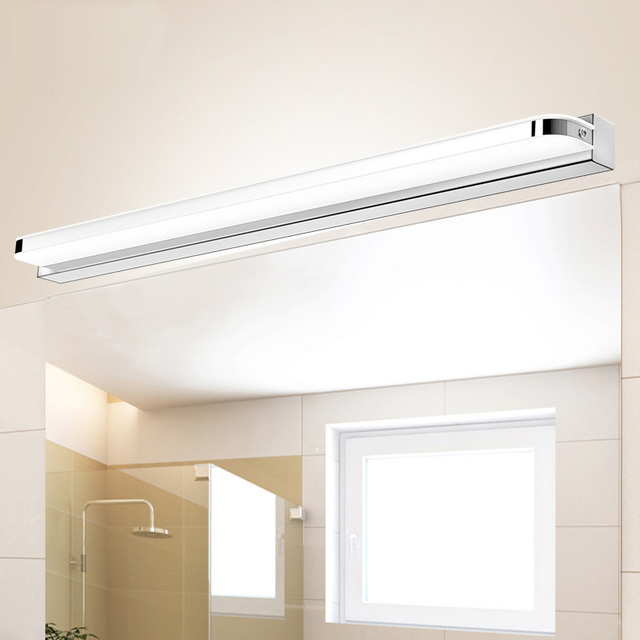 LED Wall Lamps Bathroom Mirror Front Lights CM CM CM CM CM - Bathroom mirror and sconces