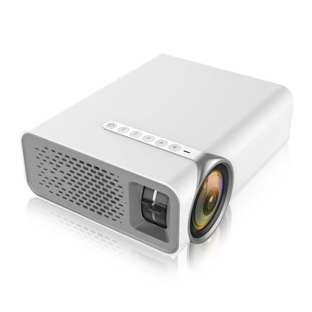 New Price Gigxon - G520 1000Ansi Lumens 480*800 Full HD Mini Portable Home Theater Proyector LCD Projector