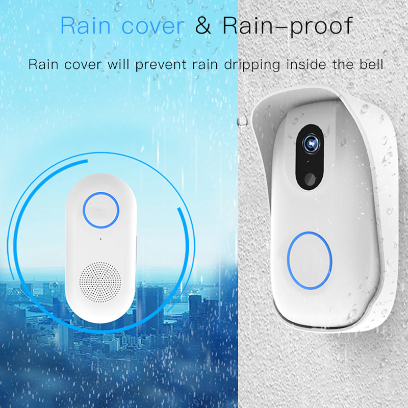 Long Life Battery Powered Home Security Alarm System Wifi Doorbell|Access Control Accessories| |  - title=