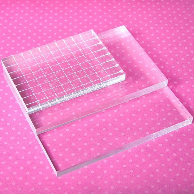 2017 new Rubber seal transparent stamp seal essential organic glass transparent acrylic handle backplane lu lutetium lutecium 3n5 bulk glass seal pure 99 95