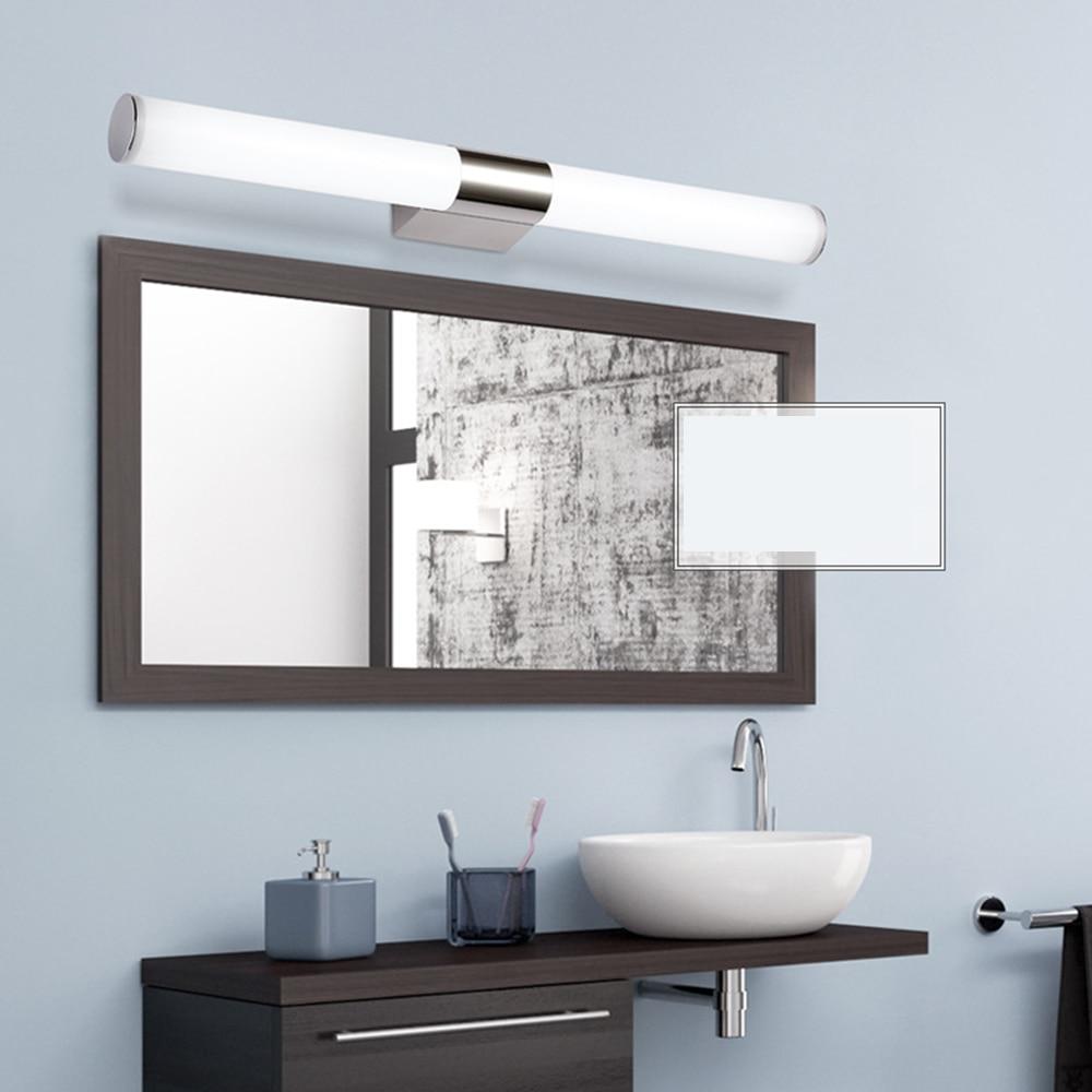 Led bathroom over mirror lights bottom-mount drawer slides
