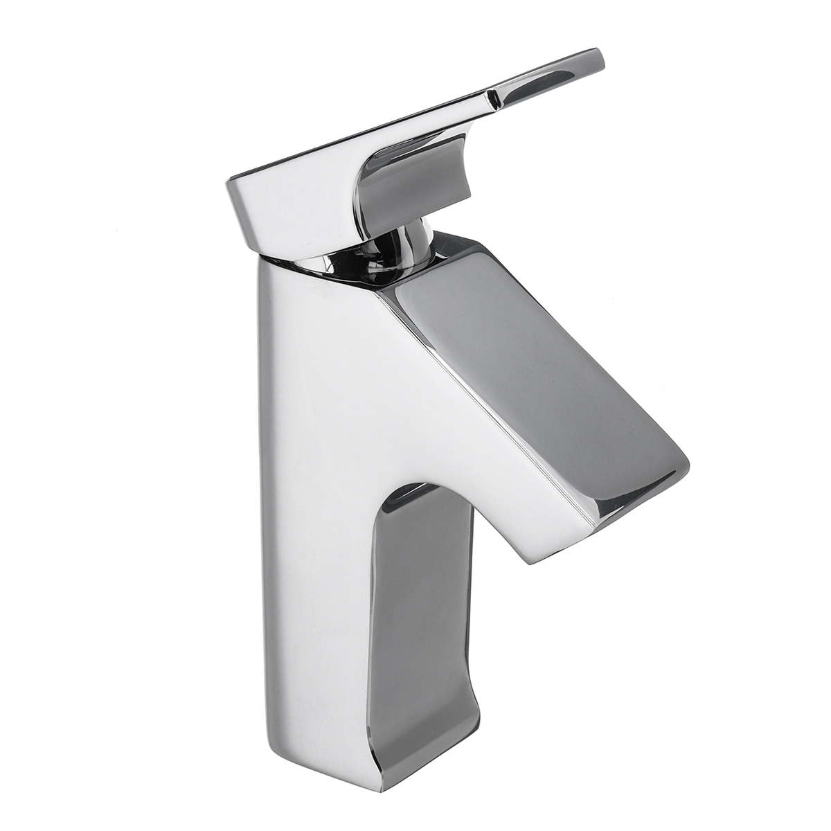Buy modern bronze single hole bathroom - Bathroom sink faucets separate hot and cold ...