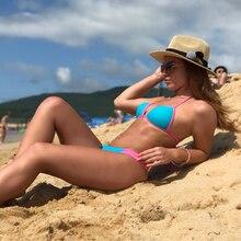 YCDYZ, сексуальные стринги, танга, бикини, купальники, Женский бандажный купальник, бразильский бантик, бикини, пляжные купальники