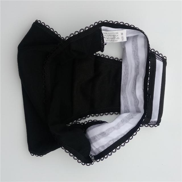 Cotton women's briefs sexy low-waist panties
