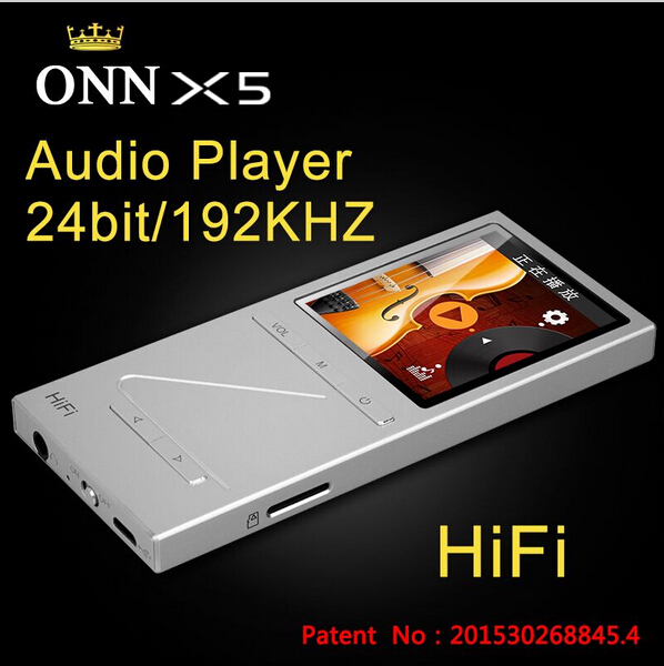 "Original ONN X5 Hifi Audio Player MP3 DAC Player with 2"" Screen 8GB Lettore with FM Support APE/FLAC/ALAC/WAV/WMA/OGG/MP3"
