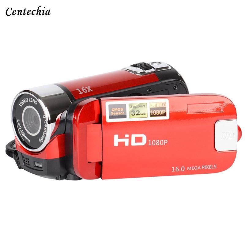 2018 New 2.7 inch 1080P HD Digital Camera kamera DV DVR Video Camcorder TFT LCD 16X Digital Zoom 16MP CMOS Digital Video Camera 5 0mp cmos digital video camcorder w 4x digital zoom usb av sd red 2 4 tft lcd