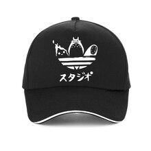Studio Ghibli Printing Baseball cap Cartoon Film Miyazaki Hayao Spirited Away No Face Man Totoro Fire-demon Calcifer hat цена