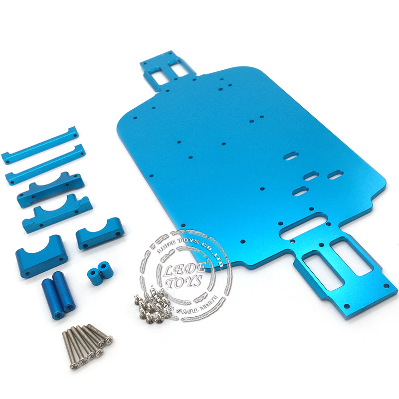 WLtoys 1/18RC remote control car metal bottom plate A949 A959 B A969 A979 alloy chassis K929 accessories Parts