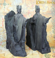 1 pair Lord of the Rings toyThe Argonath craft action figure The Hobbit figures Gate of Kings statue toys model bookshelves