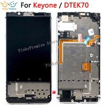 """Pour 4.5 """"écran tactile daffichage à cristaux liquides de BlackBerry KEYone DTEK70 LCD pour des pièces de rechange décran dassemblée de numériseur daffichage à cristaux liquides de BlackBerry DTEK70"""