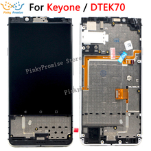 "Voor 4.5 ""BlackBerry KEYone DTEK70 Lcd Touch Screen Voor BlackBerry DTEK70 LCD Digitizer Montage Scherm Vervangen Onderdelen"